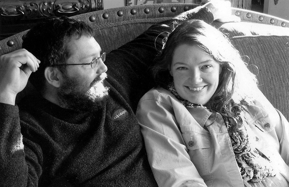 gabe and beka black and white